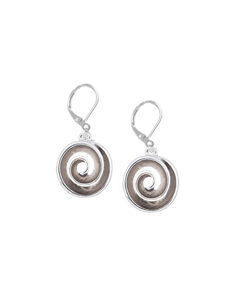 CARACOL B.O. SILVER SPIRAL TAUPE