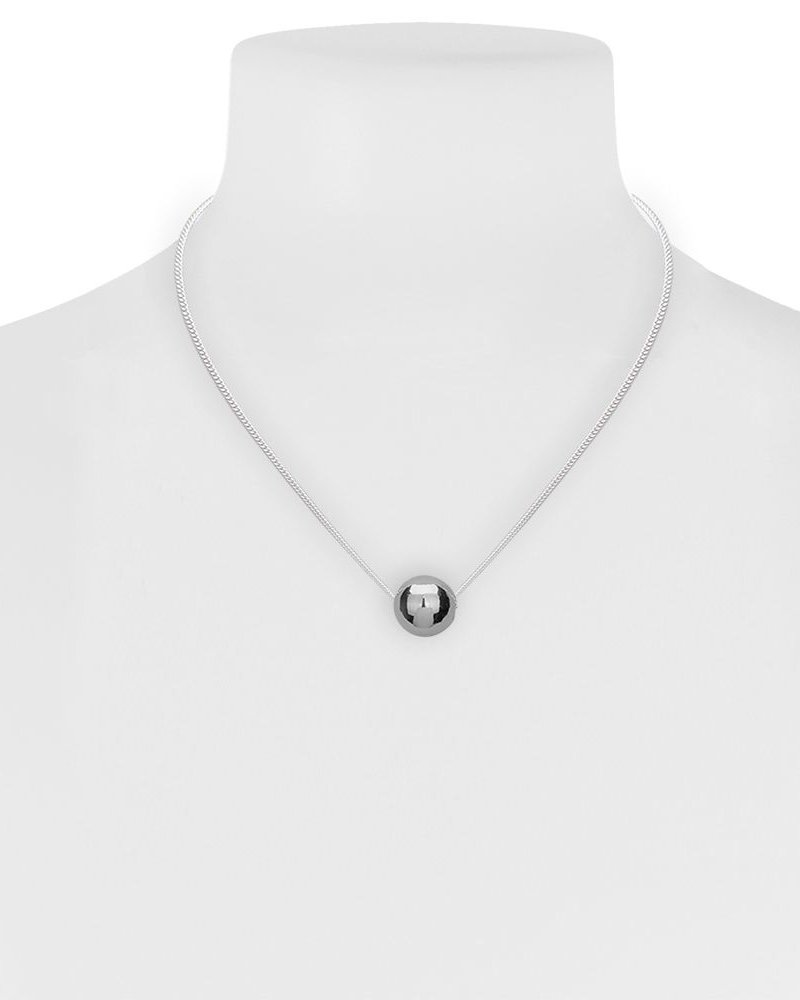 CARACOL CHAIN WITH SILVER BALL