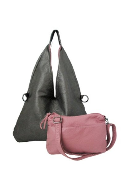 CARACOL GRAY DUO BAG