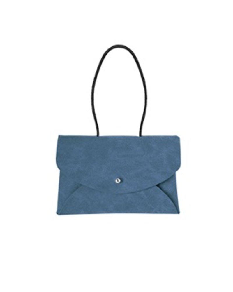 CARACOL BLUE GALA HAND BAG