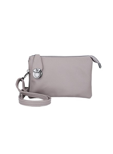 CARACOL HANDBAG MULTIPLE POUCHES TAUPE