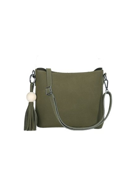 CARACOL ADVENTURE HANDBAG 2 IN 1 GREEN