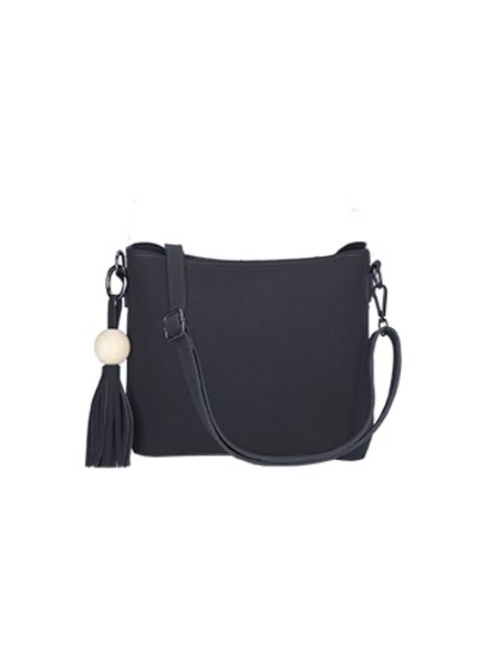 CARACOL HANDBAG ADVENTURE 2 IN 1 BLACK