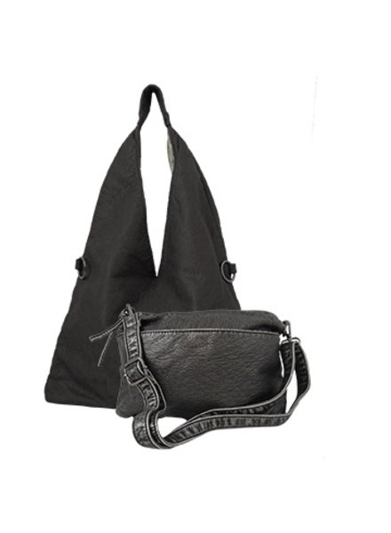 CARACOL BLACK DUO BAG