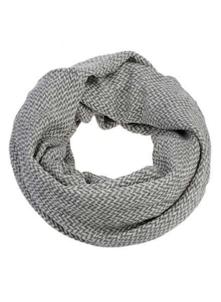CARACOL SCARF INFINI BFF SILVER / GRAY