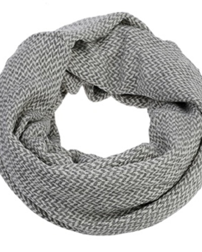 CARACOL FOULARD INFINI BFF SILVER/GRIS