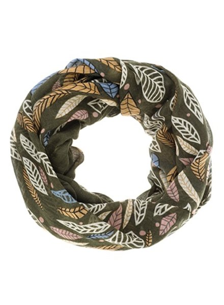 CARACOL INFINITE SCARF INDIAN SUMMER GREEN
