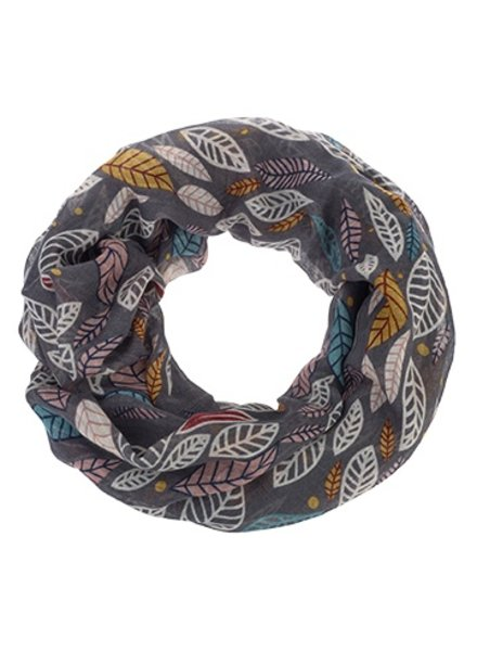 CARACOL INFINITE SCARF INDIAN SUMMER GRAY