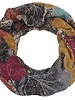 CARACOL FOULARD INFINI AUTOMNE MULTI/ROUGE