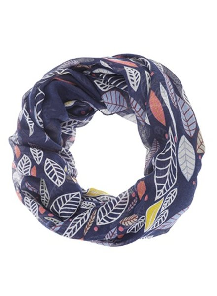 CARACOL INFINITE SCARF INDIAN SUMMER BLUE
