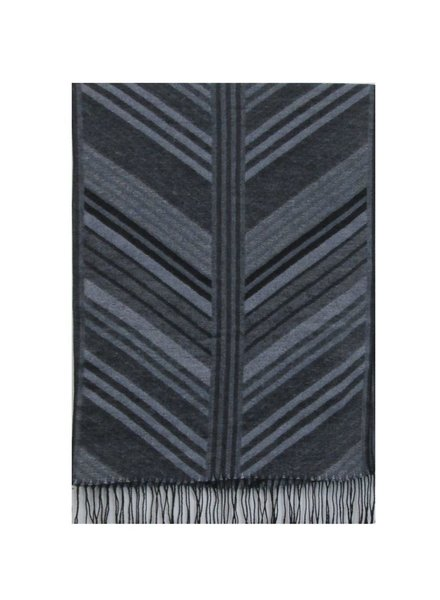CARACOL FOULARD CHALET MULTI/GRIS