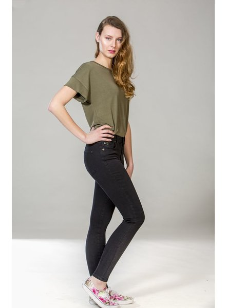 YOGA JEANS JEANS SKINNY PITCH BLACK / NOIR