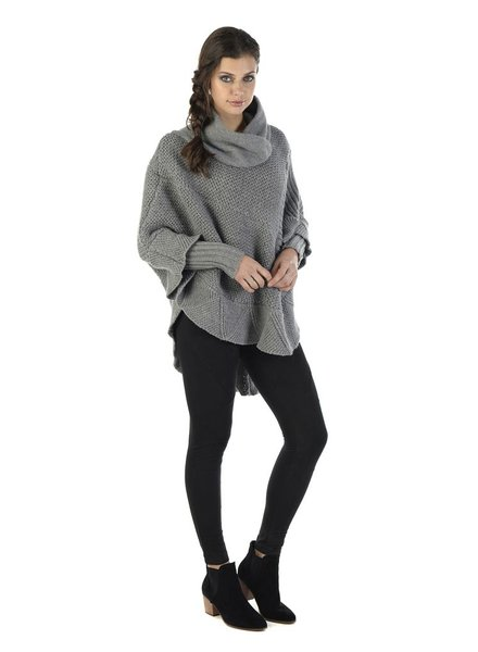 SCHWIING SCHWIING PONCHO MILLORD GRAY