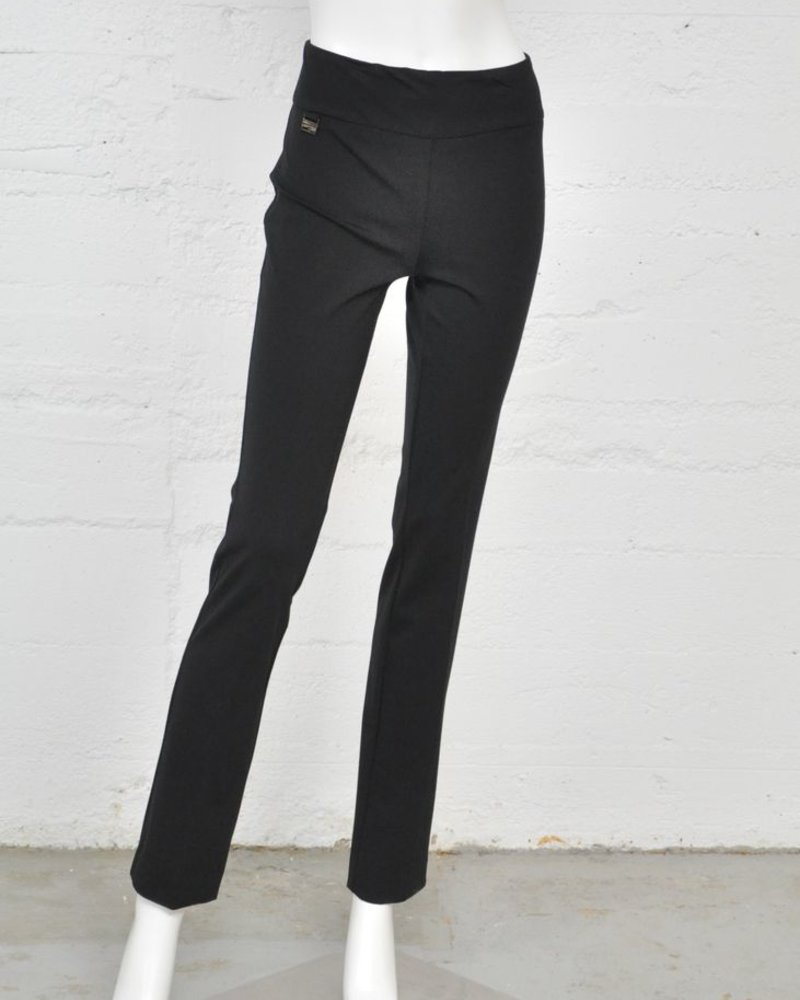 LISETTE CORE PANTS KATHRYNE FABRIC 33 '' STRAIGHT PANT BLACK