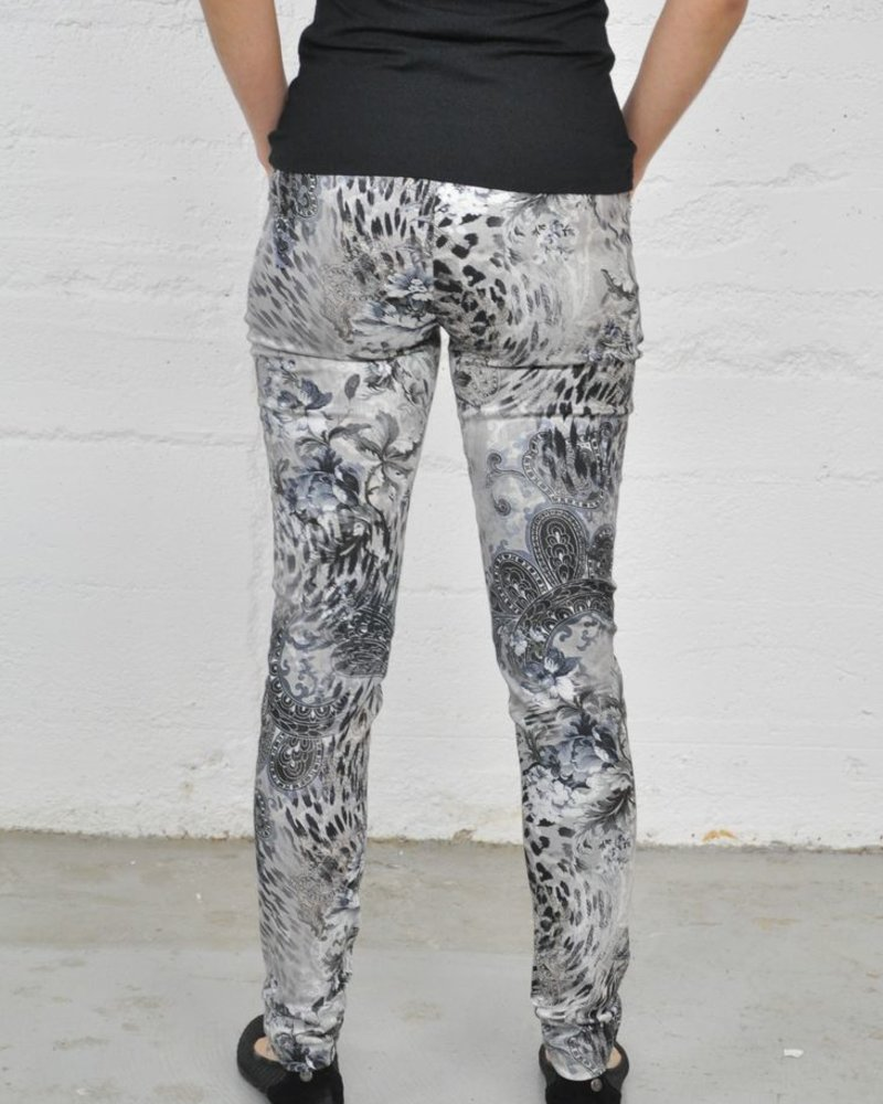 LISETTE PANTALON NOVELTY ANIMAL BAROQUE PATTERN 31'' LEGGINGS
