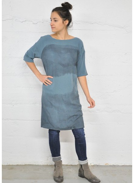 SKUNKFUNK BLUE EZKURRA DRESS