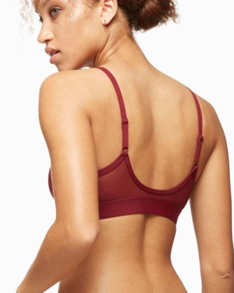 BLUSH BLUSH BRALETTE BOUND PORT/BOURGOGNE