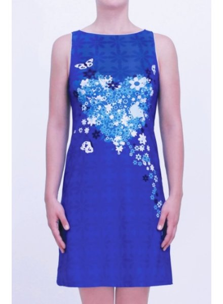 MISS VERSA MISS VERSA DRESS R55 EVELY BLUE