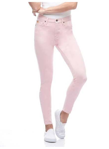 YOGA JEANS YOGA JEANS RACHEL CLASSIC RISE ANKLE CORAL BLUSH/ROSE