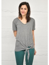 NOMADE DOLCE T-SHIRT SPEZIA GRIS O/S