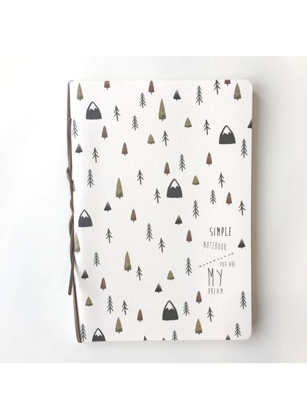 NOMADE NOTEBOOK 5'' X 8'' MOUNTAIN