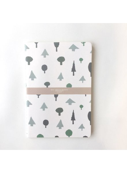 NOMADE NOTEBOOK 5'' X 8'' FOREST