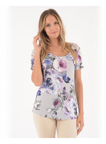 BECXY B. ROSALINA T-SHIRT FLOWERS