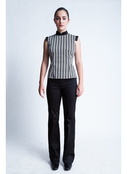 DINH BA TOP SOPHIE VERTICAL STRIPE