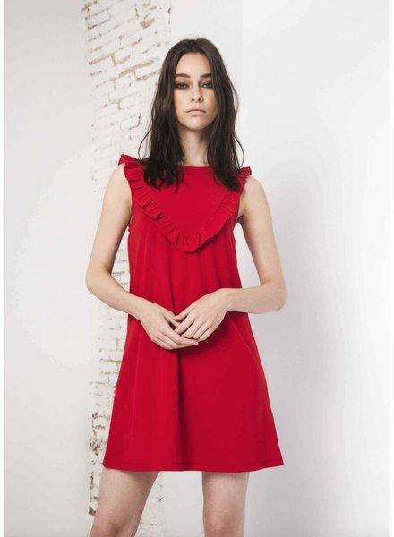COMPANIA FANTASTICA COMPANIA FANTASTICA DRESS RED