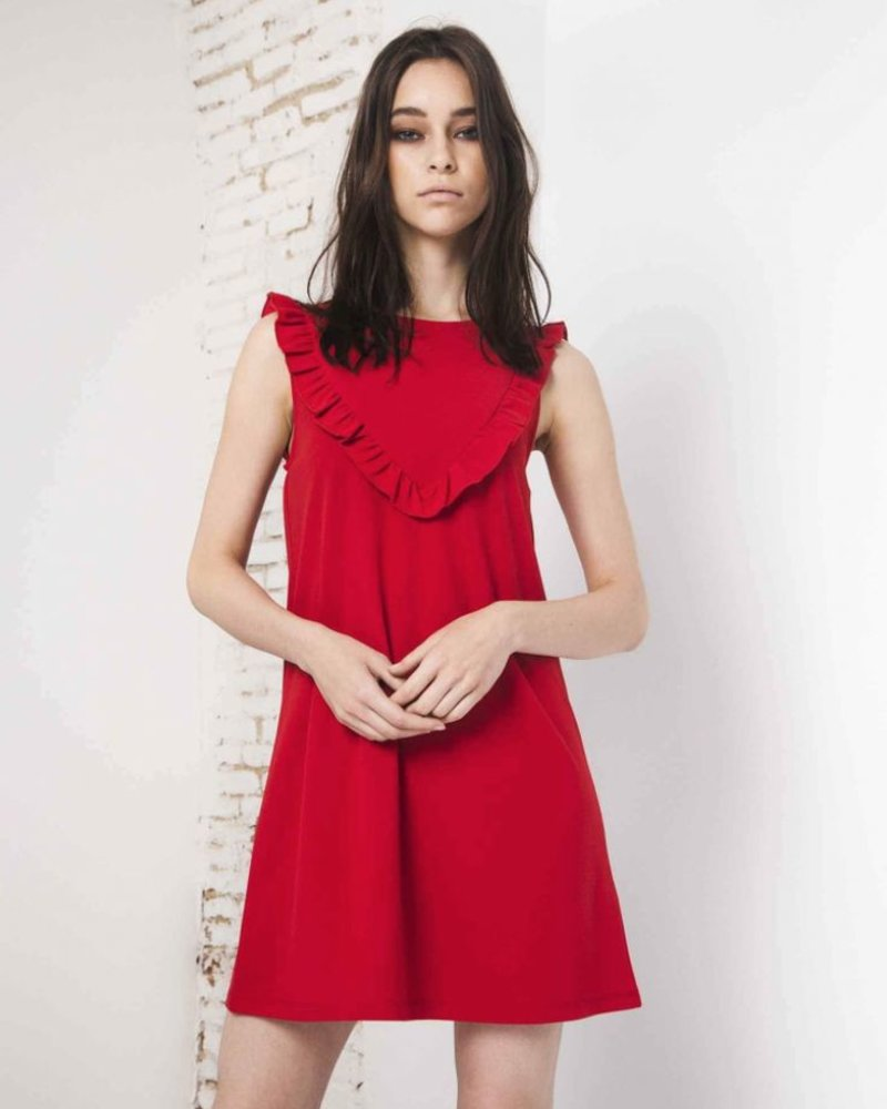 COMPANIA FANTASTICA COMPANIA FANTASTICA DRESS RED