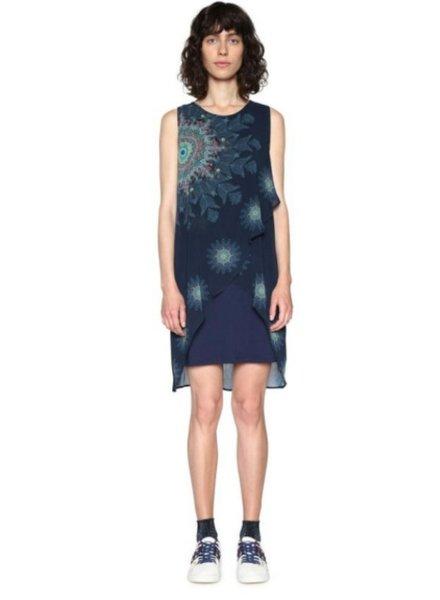 DESIGUAL DESIGUAL DRESS NADIA 5000 BLUE