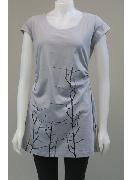 LEOPARDS AND ROSES LEOPARDS AND ROSES BRANCH TUNIC GREY