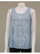 LEOPARDS AND ROSES LEOPARDS AND ROSES CAMI LOTUS BLEU
