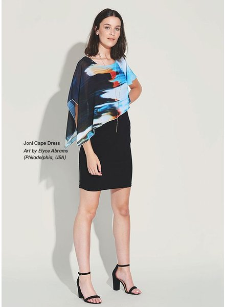 LE GALERISTE LE GALERISTE CAPE DRESS JONI BY ELYCE ABRAMS USA