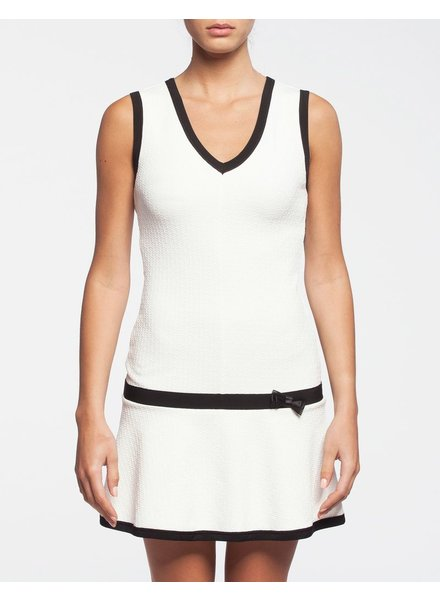KOLLONTAÏ KOLLONTAI DRESS BELIZE WHITE