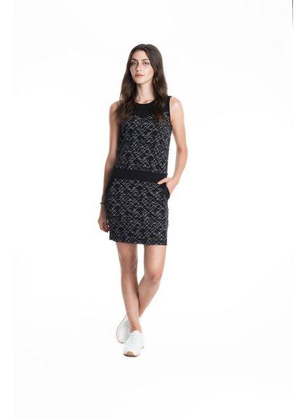 SCHWIING SCHWIING DRESS STACY OUTLINES BLACK