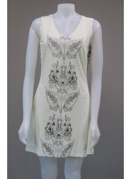 LEOPARDS AND ROSES LEOPARDS AND ROSES IVY TUNIC CREAM