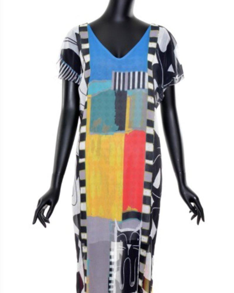VOLT DESIGN VOLT LAYERED DRESS CAT
