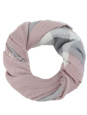 CARACOL CARACOL SCARF LES ÎLES PINK