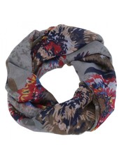 CARACOL CARACOL SCARF FEUX D'ARTIFICES GREY