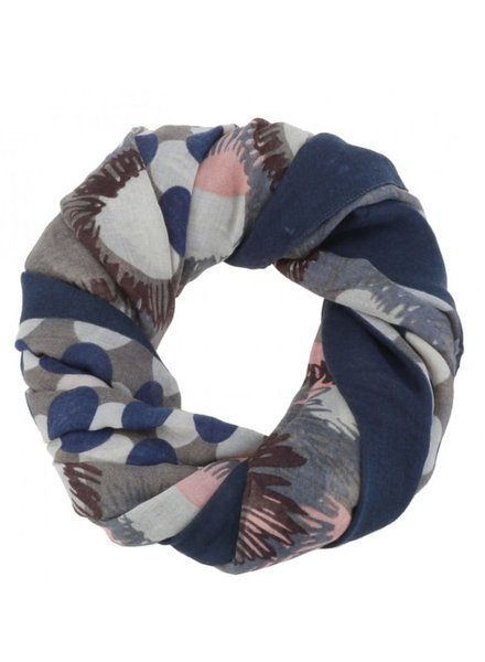 CARACOL CARACOL SCARF FESTIVAL BLUE