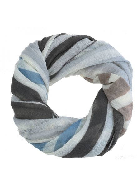 CARACOL CARACOL SCARF TRANSAT BLUE