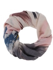 CARACOL CARACOL FOULARD VERNISSAGE ROSE