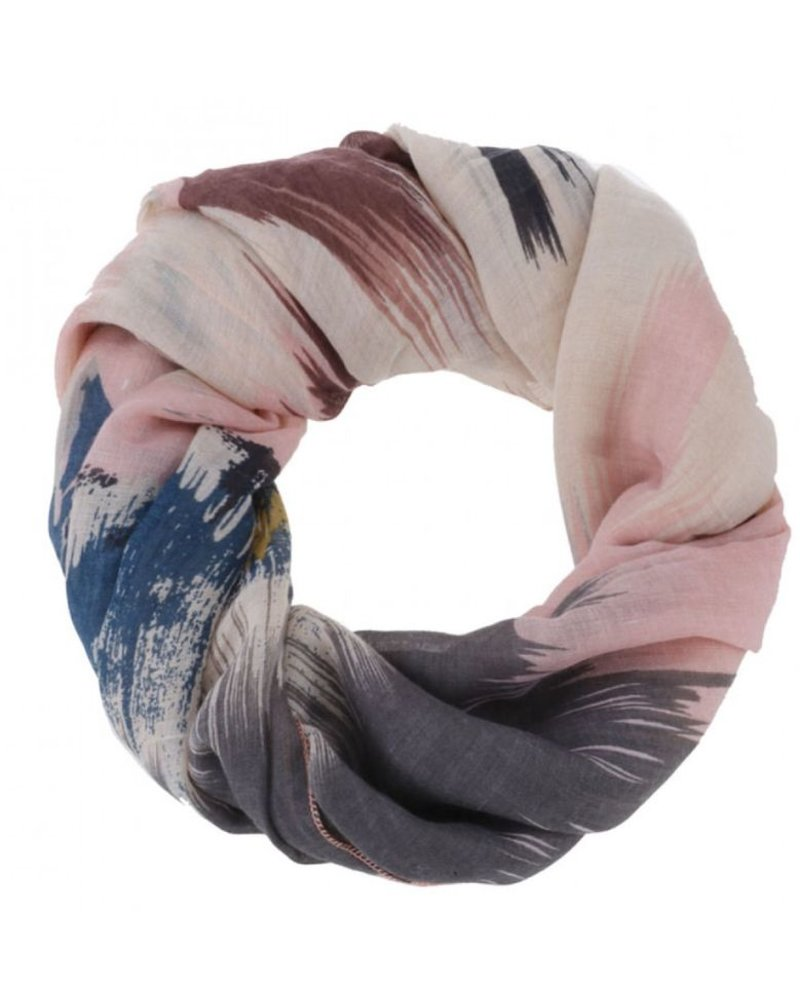 CARACOL CARACOL SCARF VERNISSAGE PINK