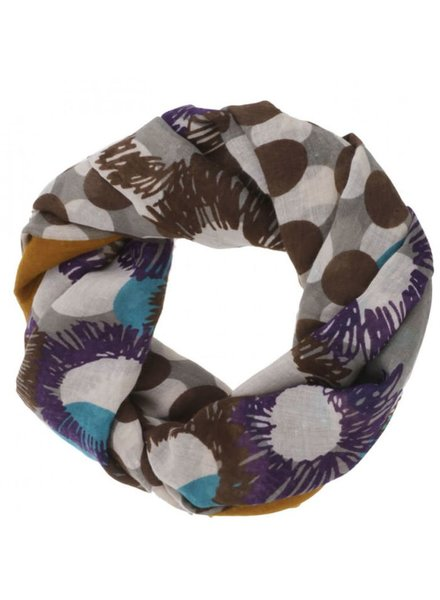 CARACOL CARACOL SCARF FESTIVAL MUSTARD