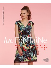 LUC FONTAINE LUC FONTAINE DRESS PAPILLON
