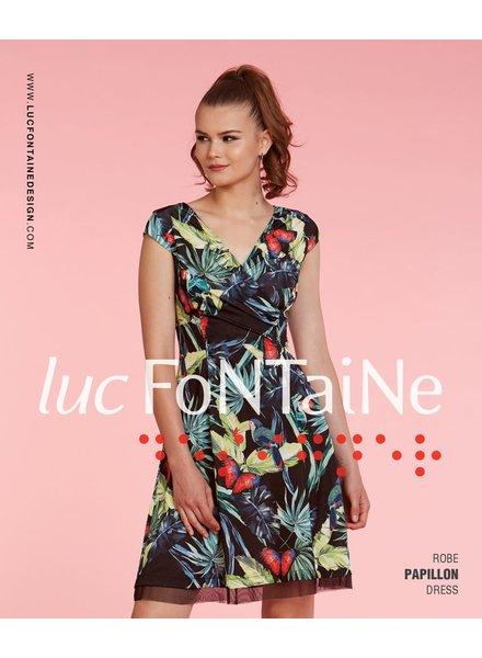 LUC FONTAINE LUC FONTAINE DRESS PAPILLON
