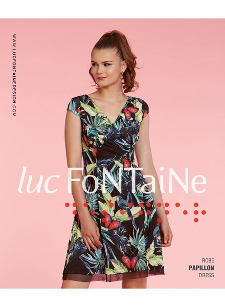LUC FONTAINE LUC FONTAINE ROBE PAPILLON