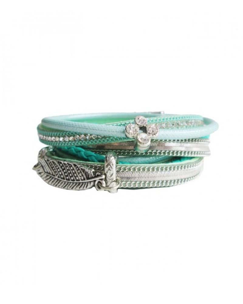 CARACOL CARACOL BRACELET  MULTI TURQUOISE