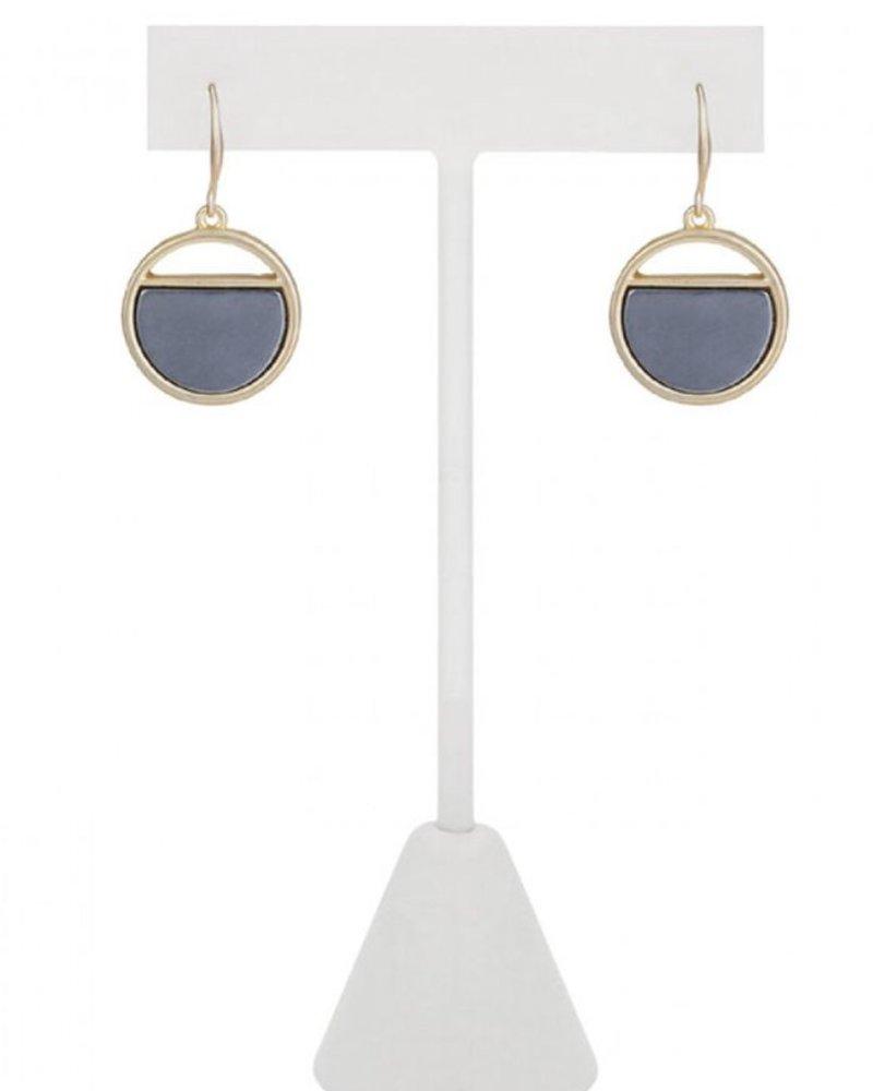 CARACOL CARACOL EARRINGS CIRCLE GOLD
